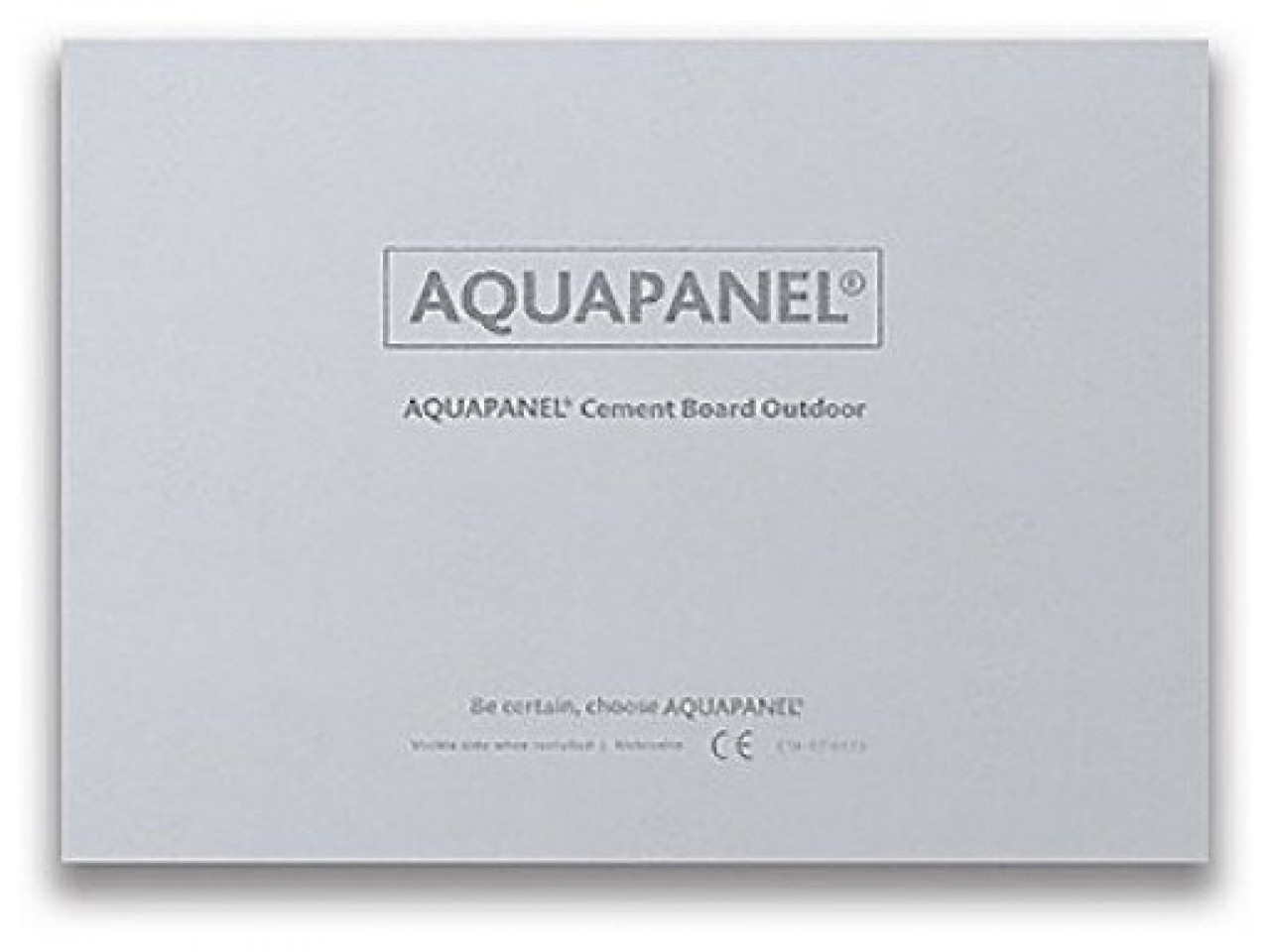 Аквапанель Outdoor 900х2400х12,5 мм