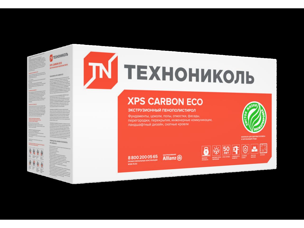 Пенополистирол Техноплекс 1200x600x40 мм
