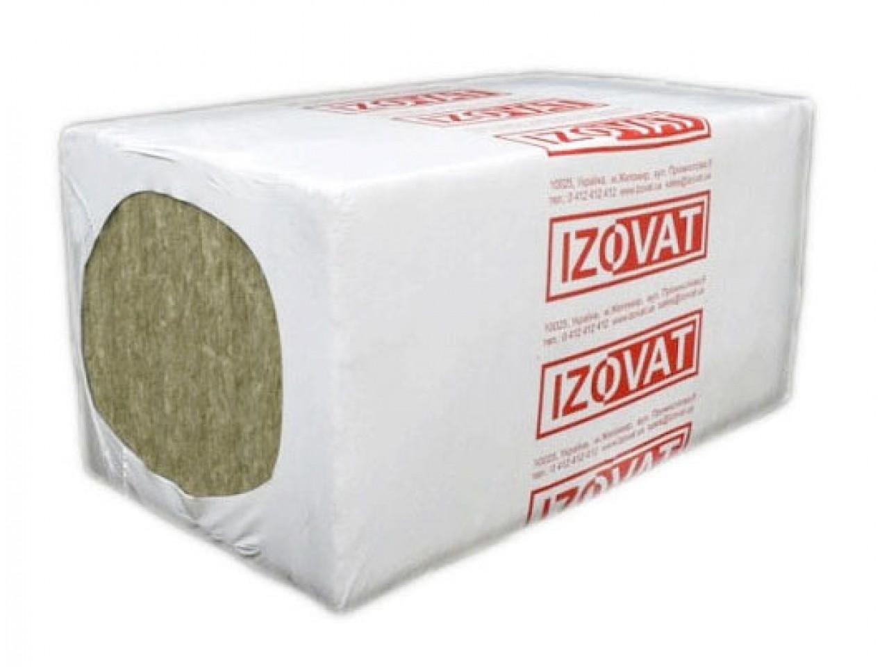 Утеплитель базальтовый 30 Izovat (1000x600x100) - 3 кв.м/уп