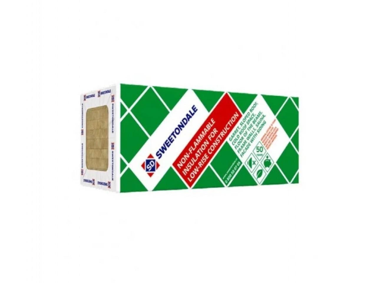 Утеплитель базальтовый 30 Технониколь SWEETONDALE Роклайт (1200x600x100 мм) - 2,88 кв.м/уп