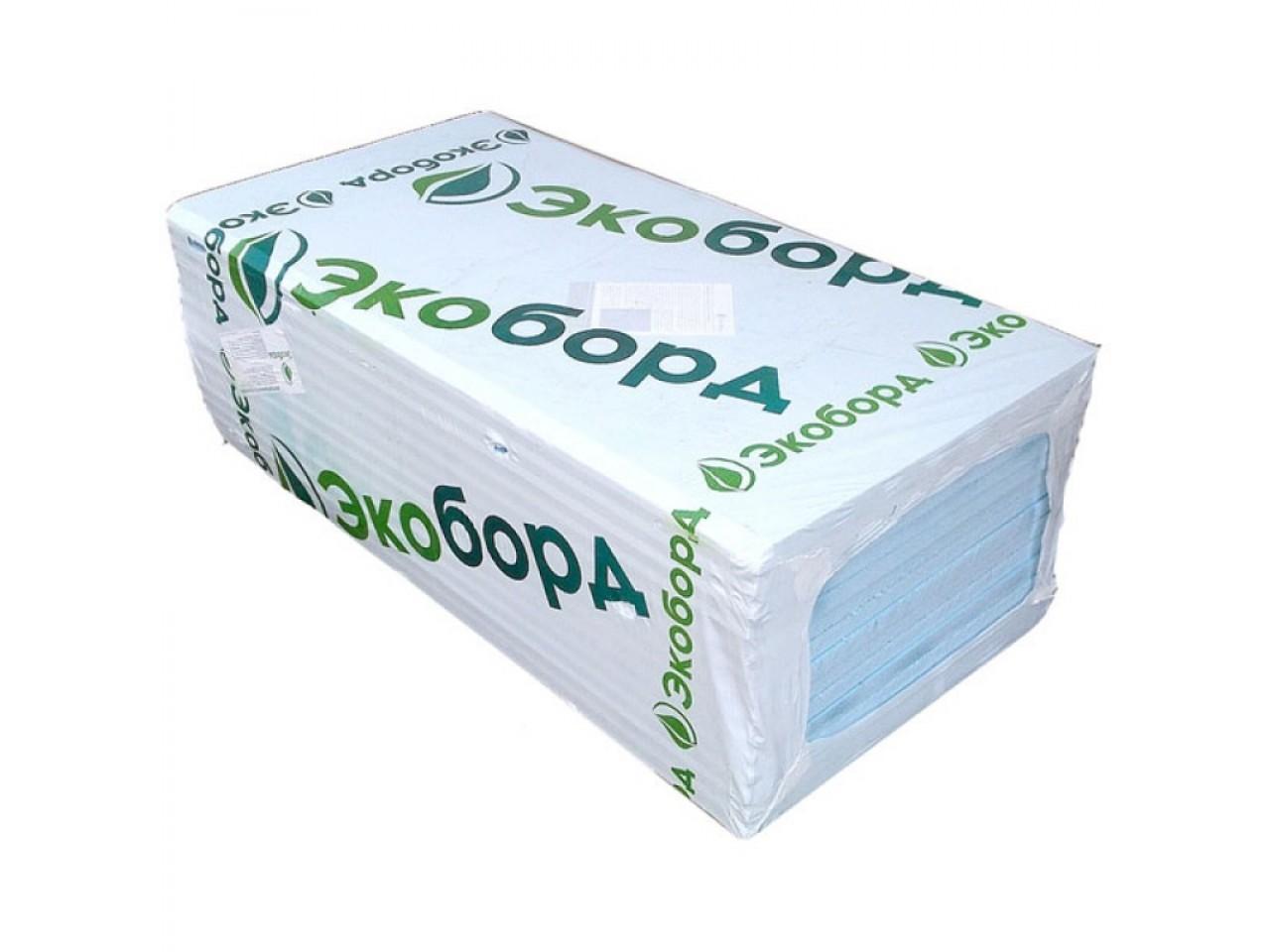 Пенополистирол Экоборд 1200x600x20