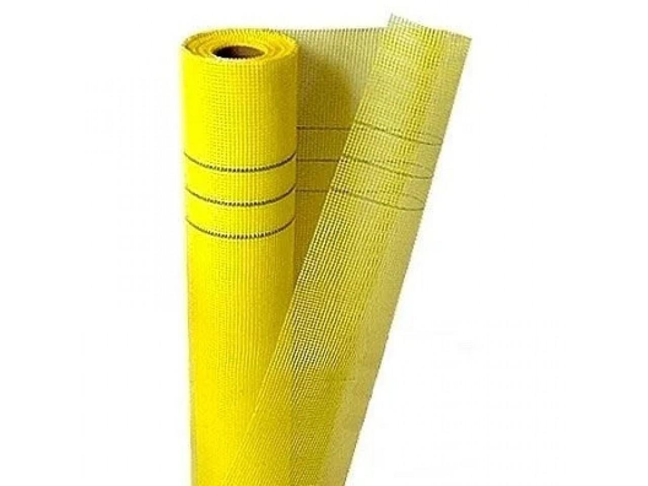 Сетка штукатурная фасадная .6*5мм (50м.кв 160гр/м2) Fiber mesh