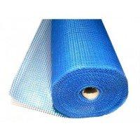 Сетка штукатурная фасадная .6*5мм (50м.кв 145гр/м2) синяя, Masternet (Мастернет)