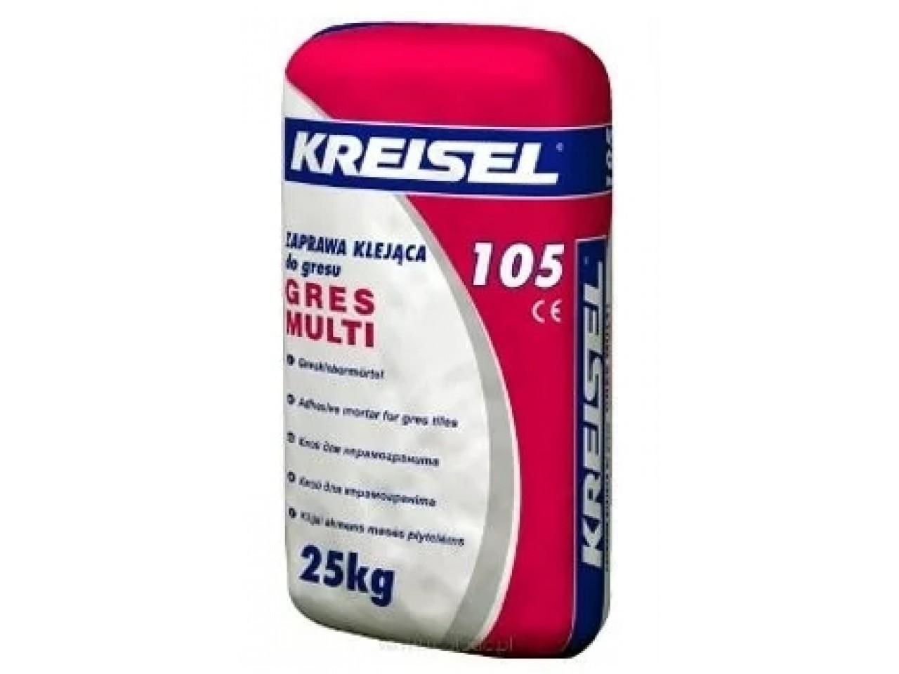 Клей для керамогранита Крайзель 105 (Kreisel 105) 25 кг