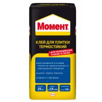 Клей для плитки термостойкий Момент 25 кг