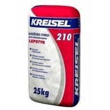 Клеевая смесь для приклеивания ППС Крайзель 210 (Kreisel 210) 25 кг (приклеивание)