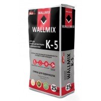 Клей для плитки Wallmix К-5 для внутренних и наружных работ 25 кг