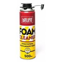 Очиститель монтажной пены Билайф Фоамклинер (Belife Foamcleaner) 500 мл