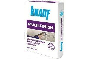Гипсовая шпаклевка Кнауф Мульти-Финиш (Knauf Multi-Finish) 25 кг