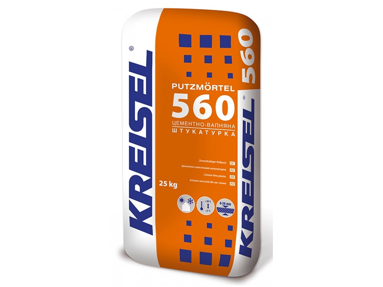 Штукатурная смесь Kreisel 560  (Крайзель 560) 25 кг
