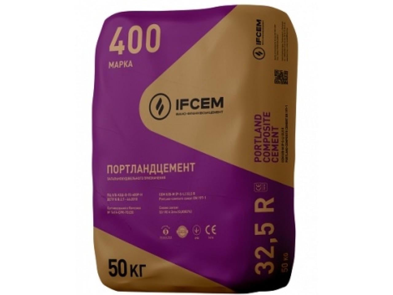 Цемент М-400 Ивано-Франковск 50 кг